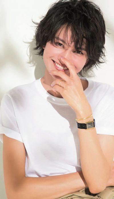 渡辺佳子さん「私の〝Tシャツ〟ジュエリー」