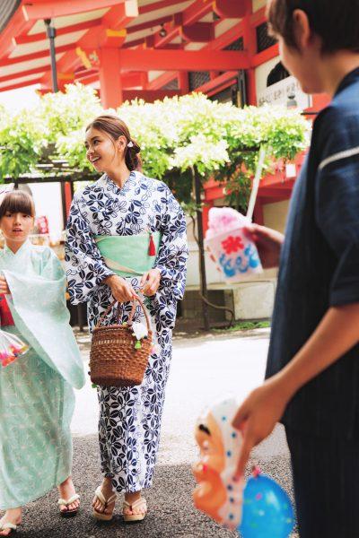 滝沢眞規子さんがこの夏、子供用に揃えた浴衣