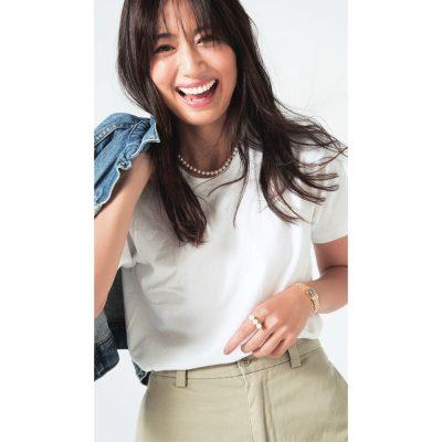 東原亜希さん「私の〝Tシャツ〟ジュエリー」