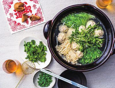 arikoさんの【鍋バリエ】ザーサイ鶏団子鍋