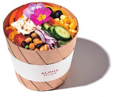 ハワイの大人気のサラダ「ALOHA SALADS」が初上陸!