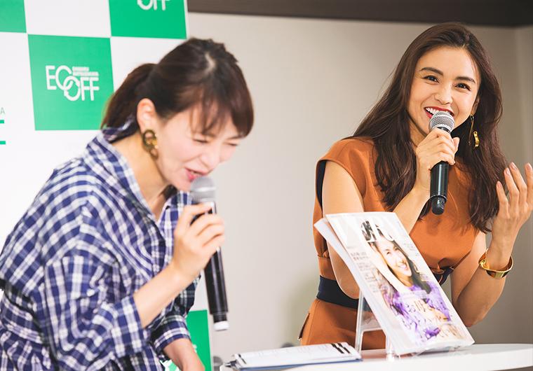 滝沢眞規子さん、札幌レポート!『大丸・松坂屋ECOFF環境月間特別企画』