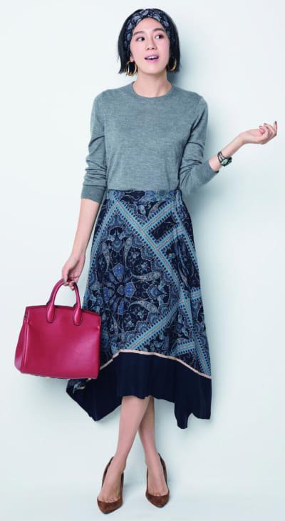 「H&M」の大人スカートが使える!