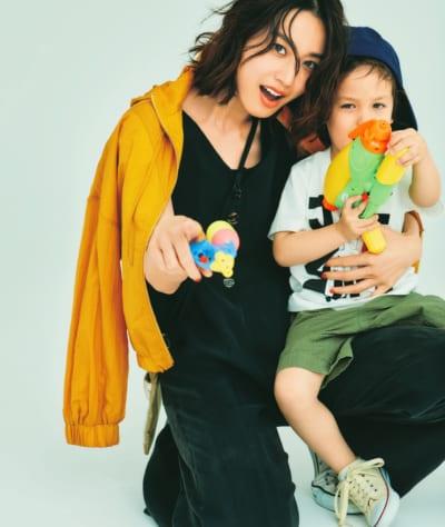 プチプラ服を男の子ママがカッコよく着こなす方法3