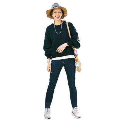 """きれいめママに""""週末はキャンプ派""""増加中!普段着ベースのキャンプコーデ3"""
