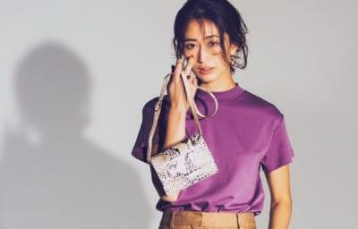 【GUの990円Tシャツ】狙い目カラーと着こなし3選 by スタイリスト金子綾さん