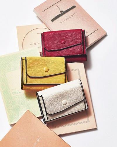 最新版ブランドミニ財布「三つ折り」編①カラフル財布