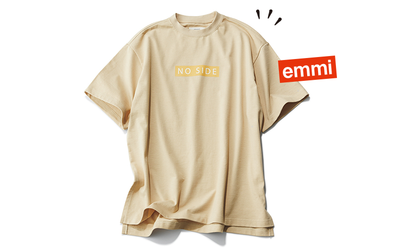 emmi×VERYコラボTシャツ