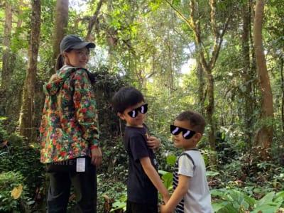 東南アジア在住ママブログ 「洞窟トレッキング!」