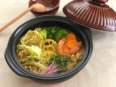 〈冬の妊活レシピ〉焼きキャベツの豆乳カレー鍋|週刊おうち薬膳