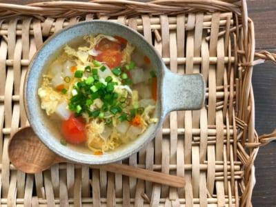消化を助ける!大根とトマトの酸辣湯スープ|週刊おうち薬膳