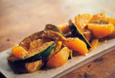 「かぼちゃとオレンジのオイル和え」|オイルと塩で和えるだけレシピ・小堀紀代美さん編(6)
