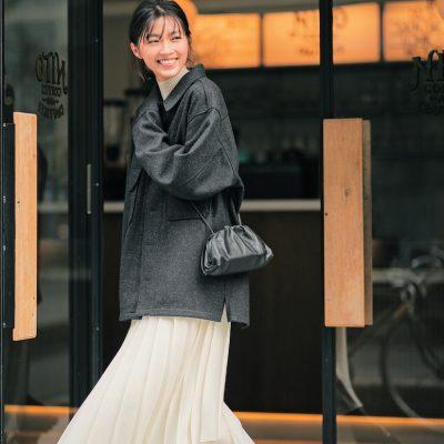 冬オシャレはブーツ2足でできる!関西No.1インフルエンサー田中彩子さん