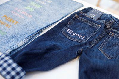 店舗限定で刺繍サービスも!「babyGap」のマイファーストデニムコレクション