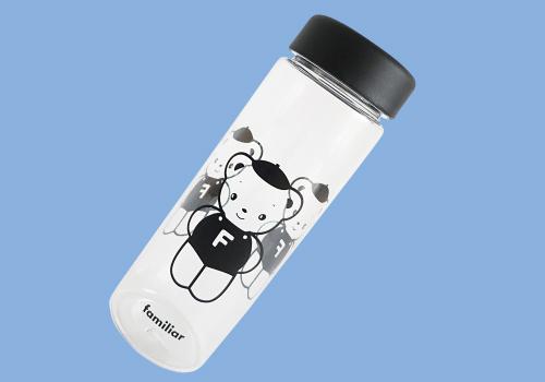 ファミリア70周年記念限定マイボトルは期間中、22000円以上の購入者にプレゼント。(数量限定)
