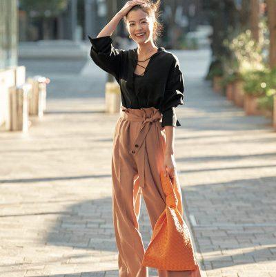 矢野未希子さんボッテガヴェネタの愛用バッグで私服コーデ公開「パワーのあるバッグが気分!」
