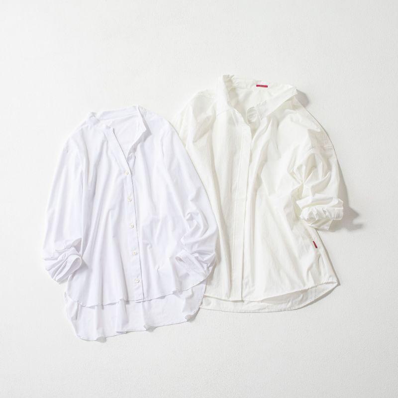 2020年春夏はシャツ型ラッシュガードが続々。右はミコモリ、左はレイール。
