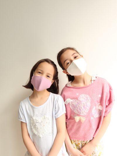 クール立体3層布マスクがヴィリーナから4月25日(土)WEB限定発売!子ども用も