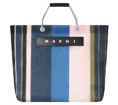 新色やミニサイズも登場!マルニのストライプバッグとフロシキスカーフコレクションがオンラインで限定販売