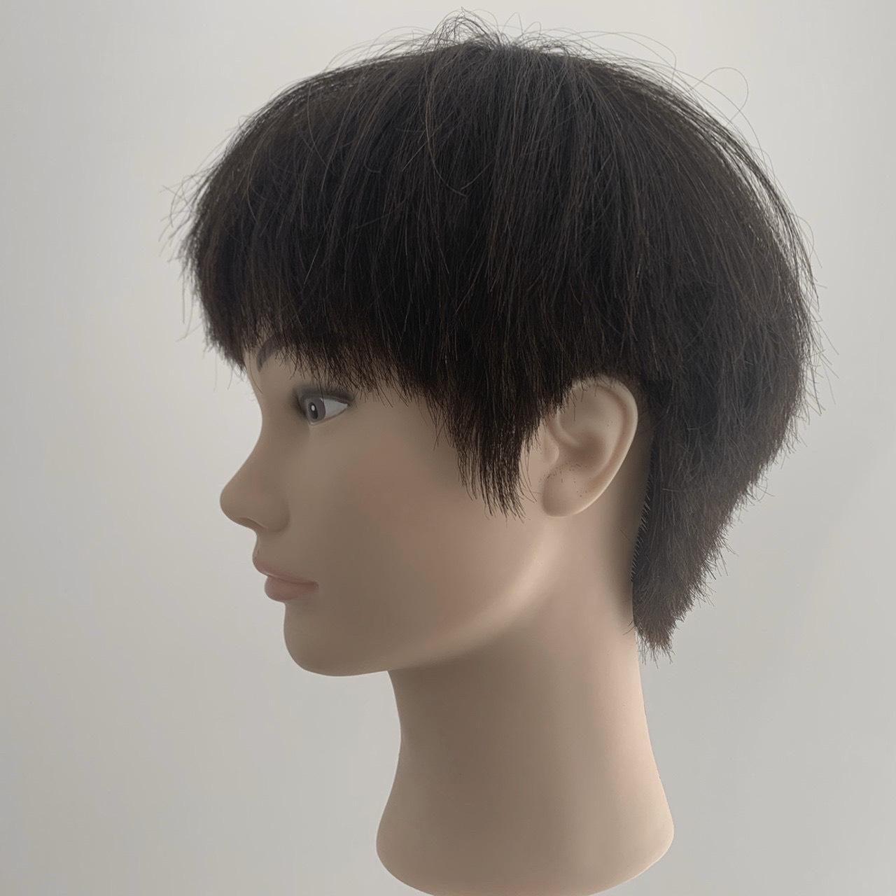 男の子のおうちで髪カット