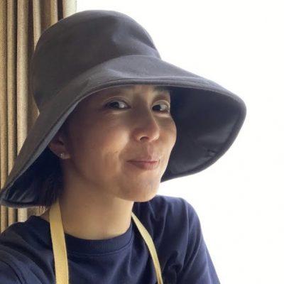 モデルの「ポチ買いおこもり名品」本気で焼かない帽子!
