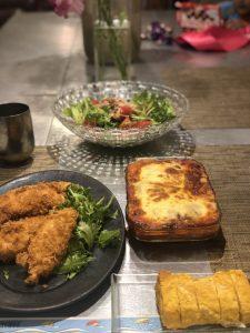 神崎家のとある日の食卓