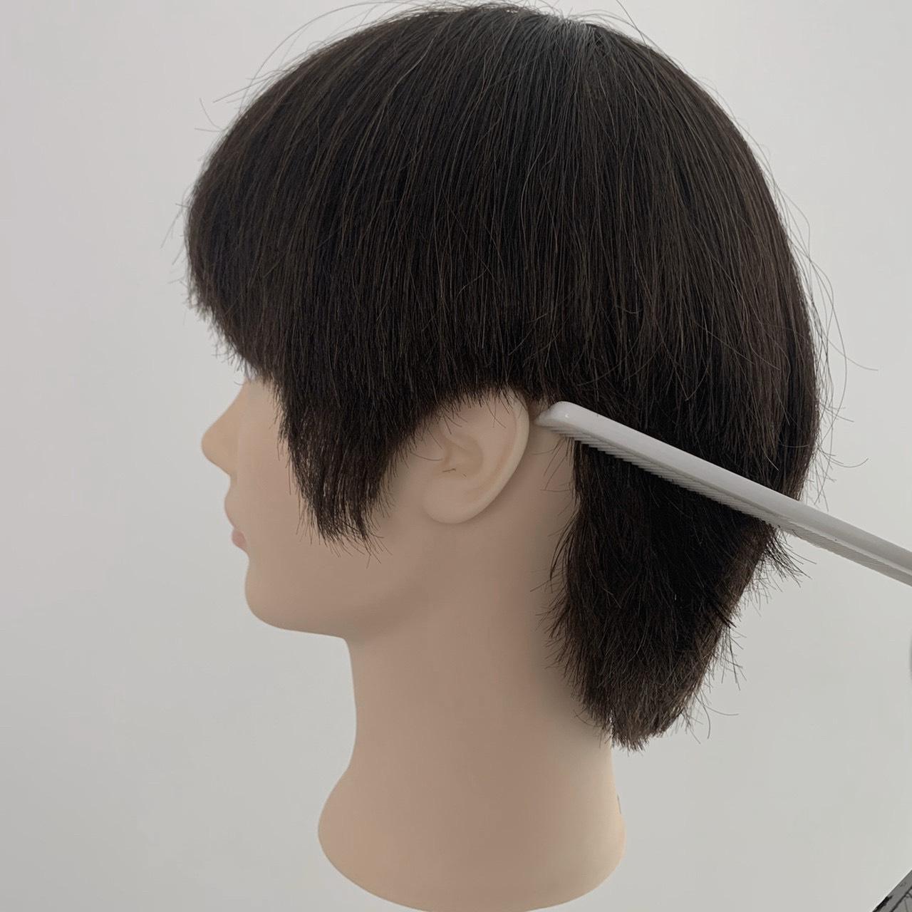 男の子のおうちで髪の毛セルフカット、やり方