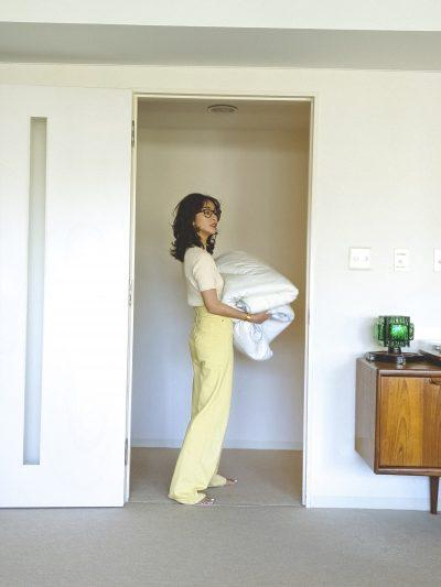 私服公開! クリス-ウェブ佳子の「おうちコーデは色から選ぶ!」④イエロー