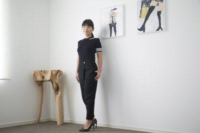 vol.02-3  柴田陽子さんの女性を美しく見せる「ブラックパンツへの愛」