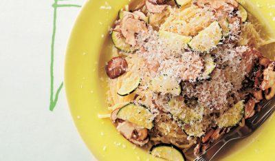 ズッキーニのカチョエペペ風パスタレシピ|小堀紀代美さんの和えるだけパスタ6