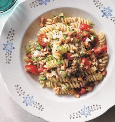 いわしのシチリア風パスタレシピ|小堀紀代美さんの和えるだけパスタ3
