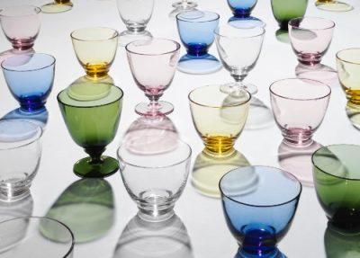 ホルムガードの新作グラスでテーブルの上を清涼感いっぱいの夏に!