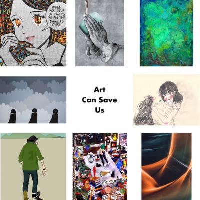今、私にできること。アートチャリティ「Art Can Save Us」