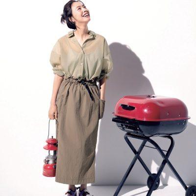 大人可愛いスカートコーデも撥水&軽量な素材なら、雨でも蒸し暑い日も快適【明日のコーデ】