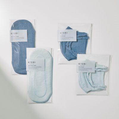 シルク×オーガニック染色の上質マスク、生理用品でストレスフリーな毎日を