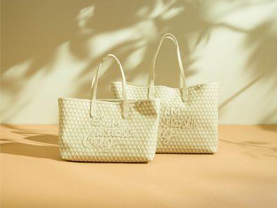 「白」が可愛い!ロンハーマン別注「アニヤ・ハインドマーチ」プラスチックバッグ
