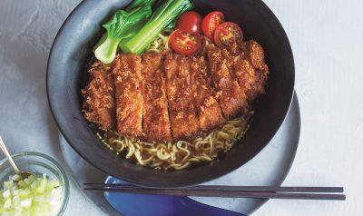ぐっち夫婦の「簡単パーコー麺」レシピ|袋麺でできて栄養も摂れる!