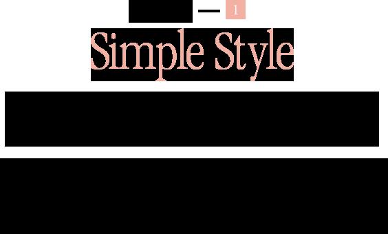 keyword-1 Simple Style インデックスもリュウズもない、ダイヤモンドの〝チャーム〟が揺れる 〝時計までがジュエリー〟 大人にこその端正な手元