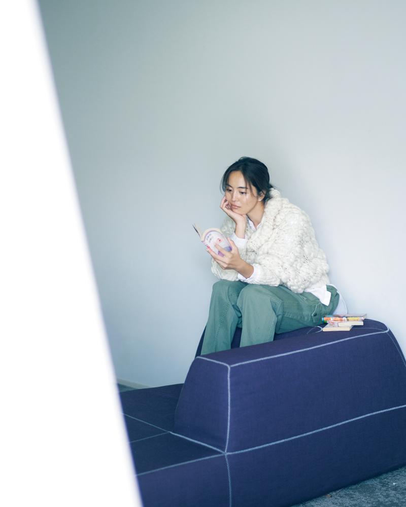 鈴木六夏さんの湘南の新居とクローゼット