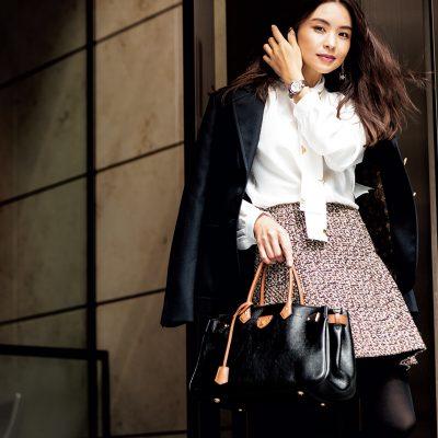 滝沢眞規子さん、働くいい女キャラで持ちたいBIGバッグ