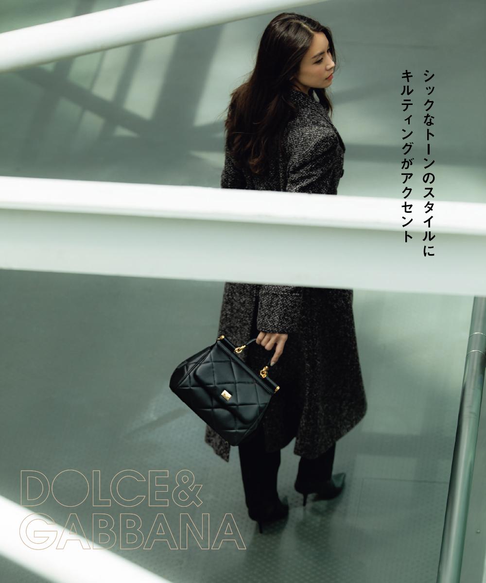 滝沢眞規子_Dolce & Gabbana
