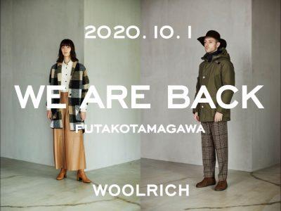 キッズも揃う!「ウールリッチ」二子玉川店がオープン!