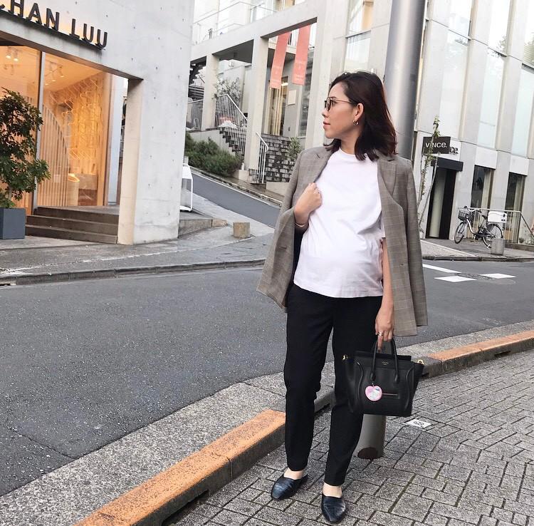 ユニクロEZYアンクルパンツコーデ(読者・塩浦エマさん)