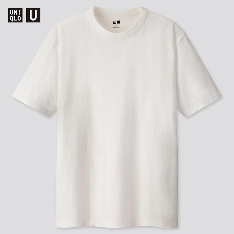 ユニクロ、クールネックTシャツ
