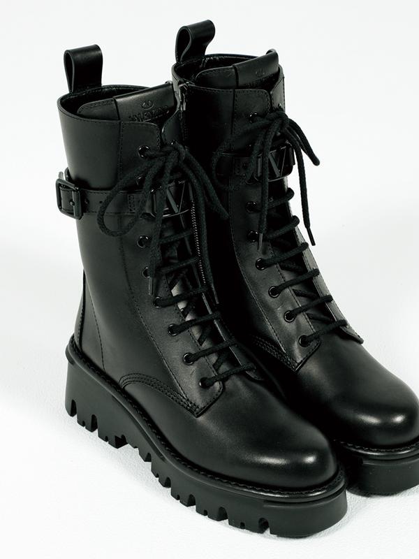 ヴァレンティノのブーツ,憧れブランドの今どき靴