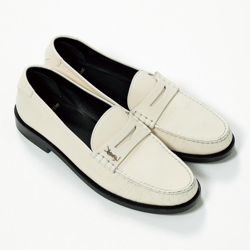 サンローランのローファー,憧れブランドの今どき靴
