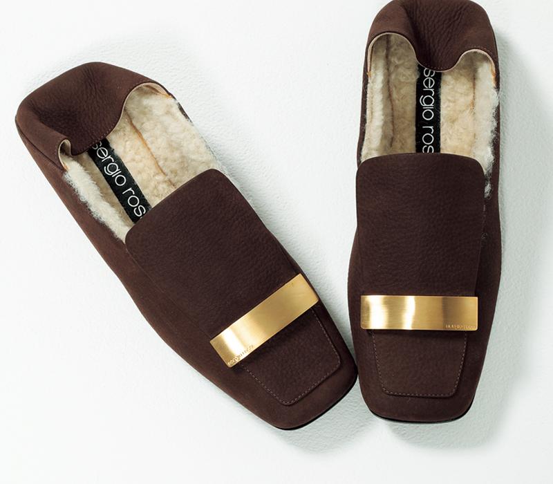 セルジオロッシのスリッポン,憧れブランドの今どき靴