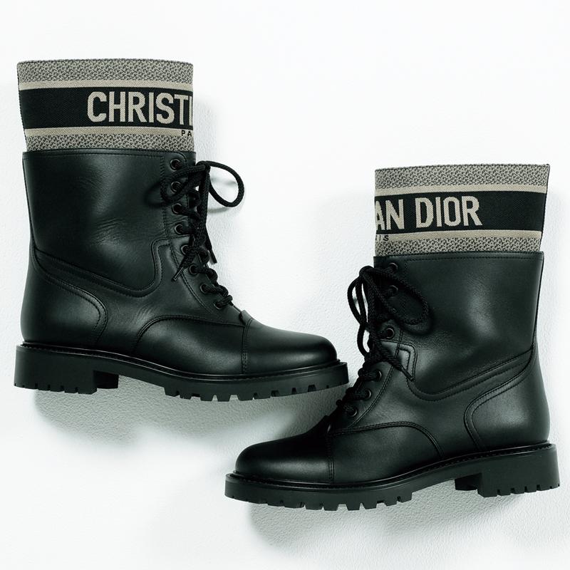 ディオールのブーツ,憧れブランドの今どき靴