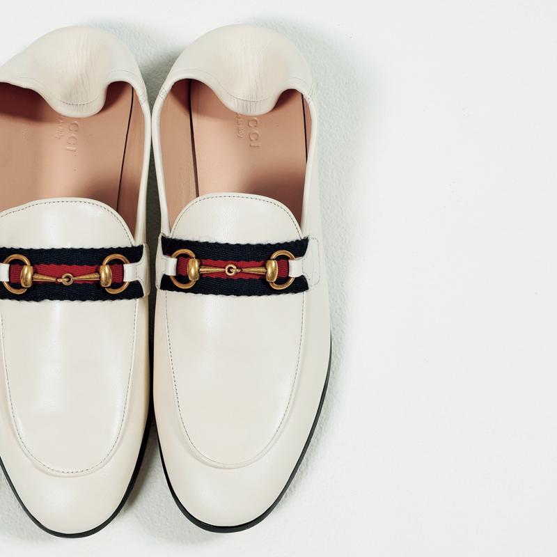 グッチのローファー,憧れブランドの今どき靴