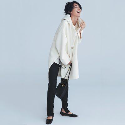 """スリットパンツは""""黒""""一択!大人の黒パンツ鉄板コーデ4選【2020秋冬】"""